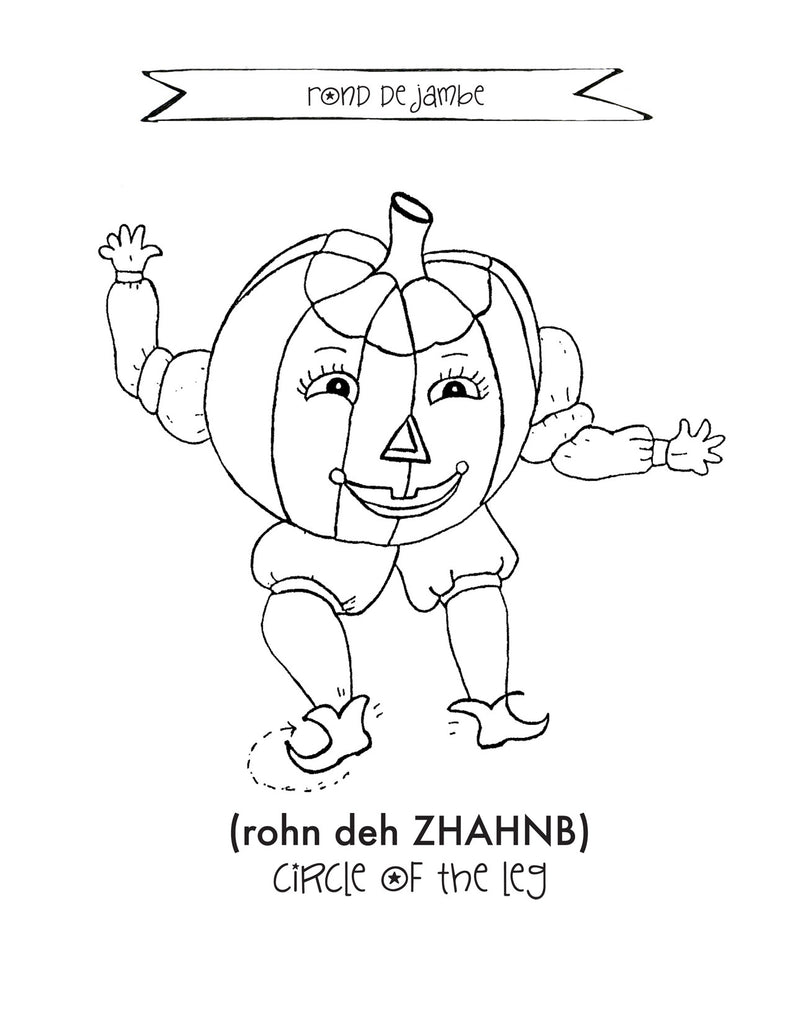 Halloween Coloring Page PDF The Magical Kingdom of Dance