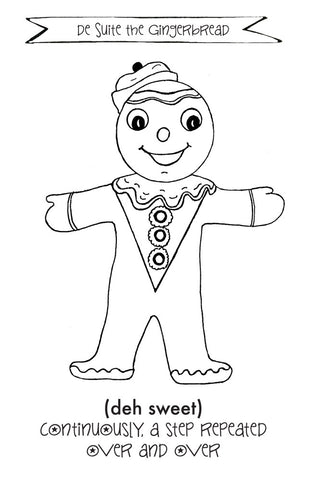 Christmas Coloring Page Set