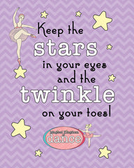Keep the Stars in Your Eyes Poster