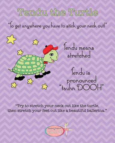 Tendu the Turtle - Poster