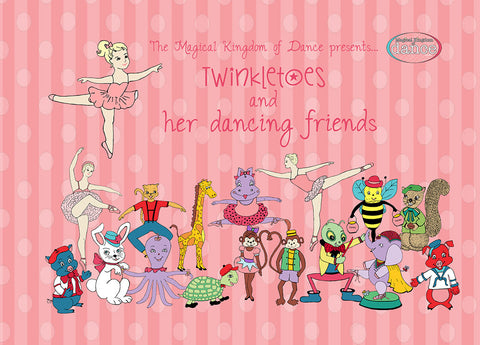 Twinkletoes and her dancing friends ballet book