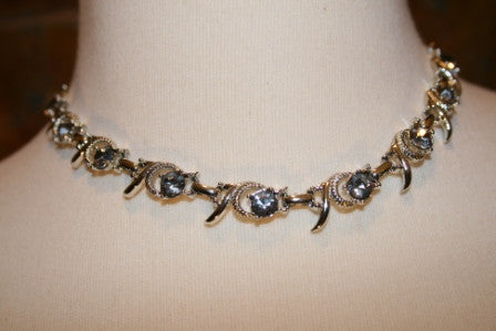 80's Glam Choker Necklace