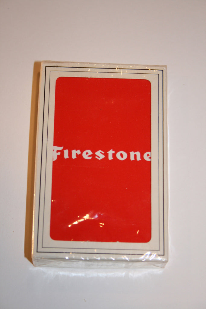 Vintage Firestone Playing Cards - Vintage Swag Chics