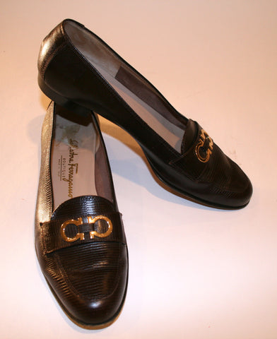 Vintage Salvatore Ferragamo Boutique Loafers