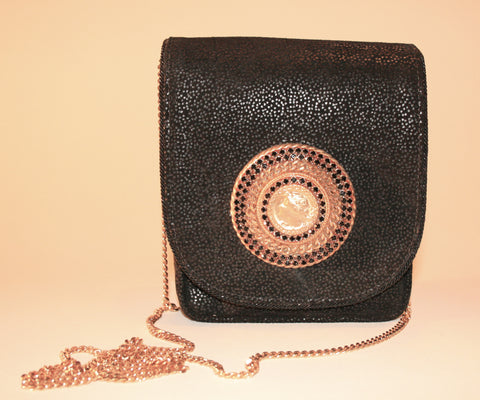 Grecian Caesar Themed 80s Handbag