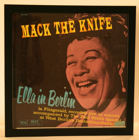 "Ella Fitzgerald in Berlin ""Mack The Knife"" Vintage Album"