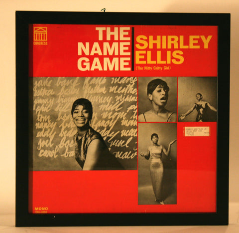 "Vintage Album by Shirley Ellis ""The Name Game"""