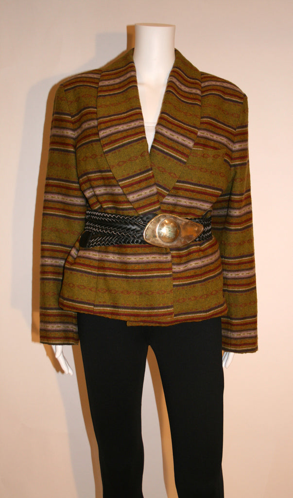 Laundry 80s Southwest Blanket Style Jacket - Vintage Swag Chics