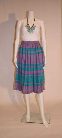 Cotton 1980s Prophecy Skirt