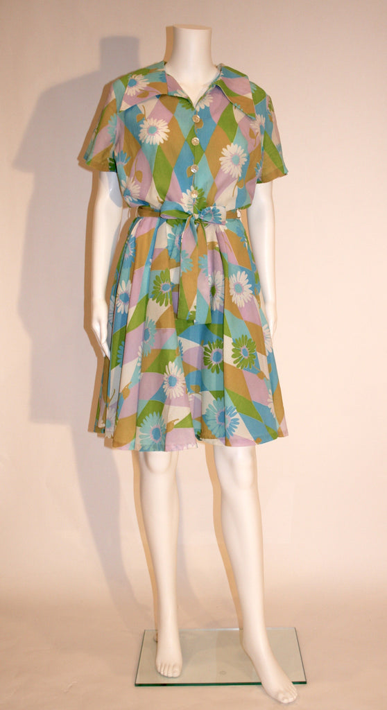 1960's Summer Swing Dress