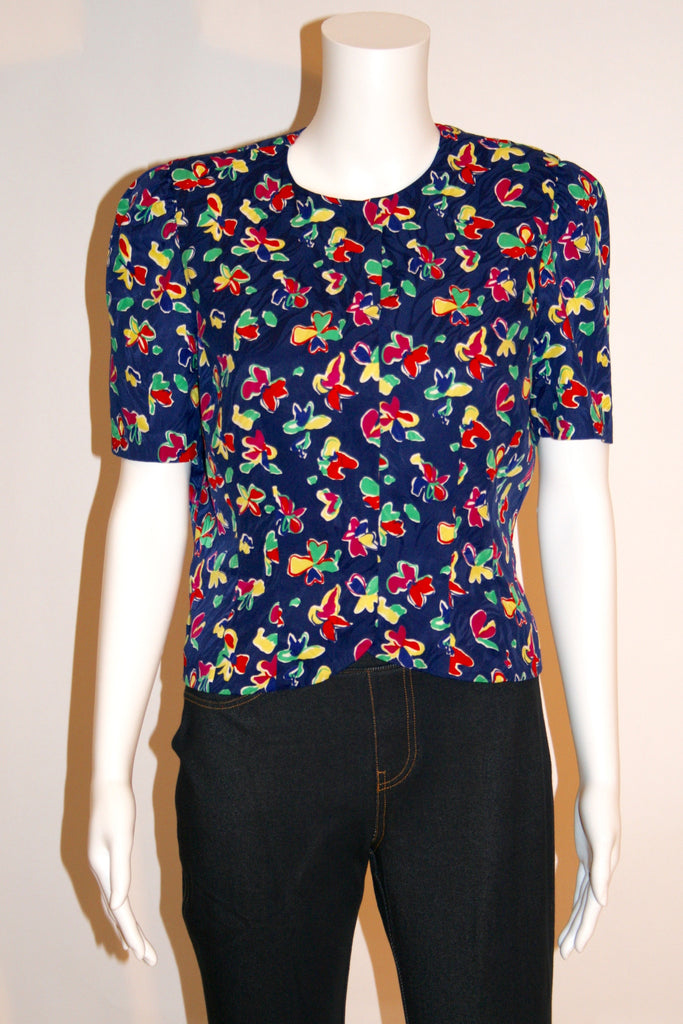 Vintage Adrianna Papell Blouse - Vintage Swag Chics