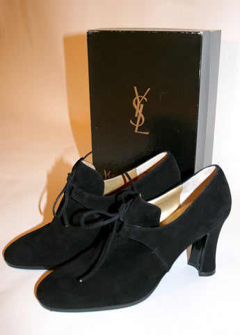 Vintage YSL Suede Shoes