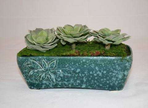 Vintage 70s Ceramic Planter, Perfect Succulent Planter