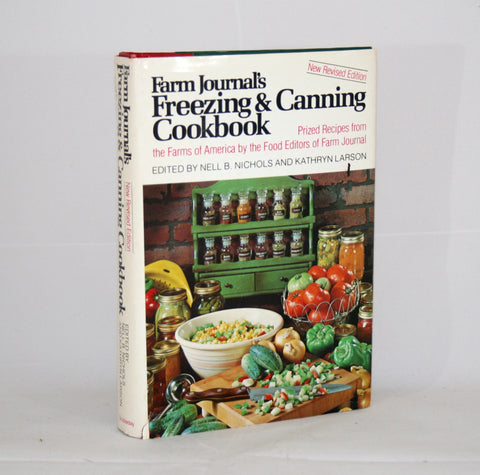 Farm Journal's Freezing & Canning Cookbook 1978, Vintage Cookbook
