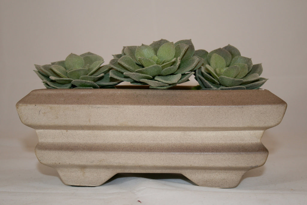 Vintage Kay Finch California Pottery Mid Century Unglazed Planter