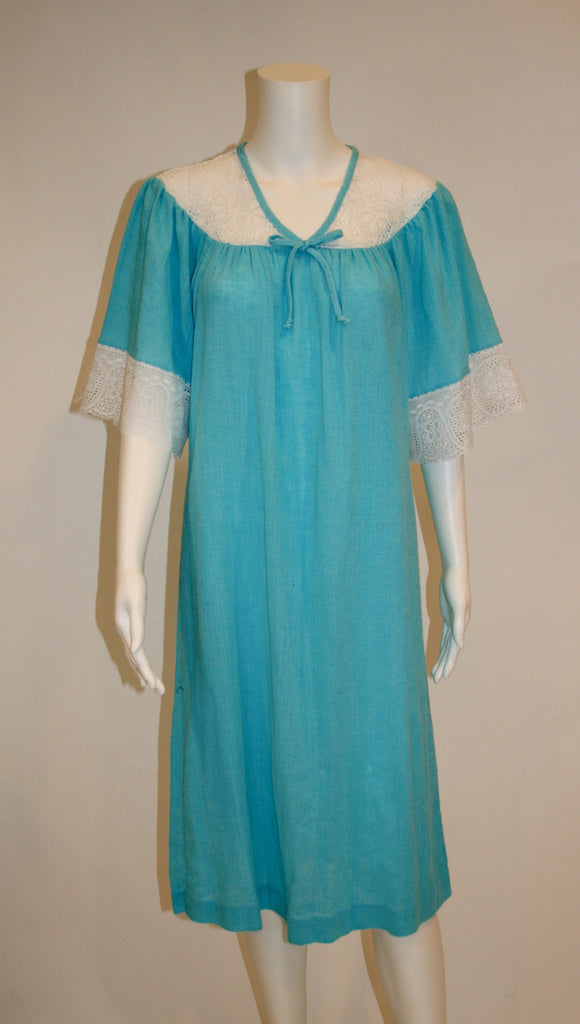 Teddie of California House Dress - Vintage Swag Chics