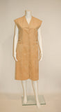 Ultrasuede Blassport for Bill Blass Vintage Dress