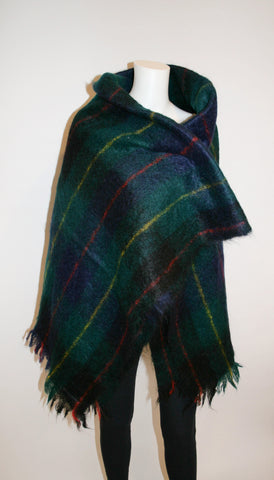 Vintage AVOCA Handwoven Mohair Throw