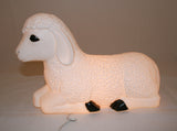 Light Up Decoration Lamb