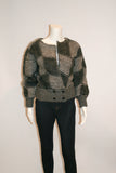 1980s Vintage Mohair Graphic Sweater - Vintage Swag Chics