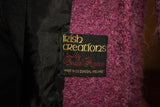 Vintage Fuschia Mohair Long Coat