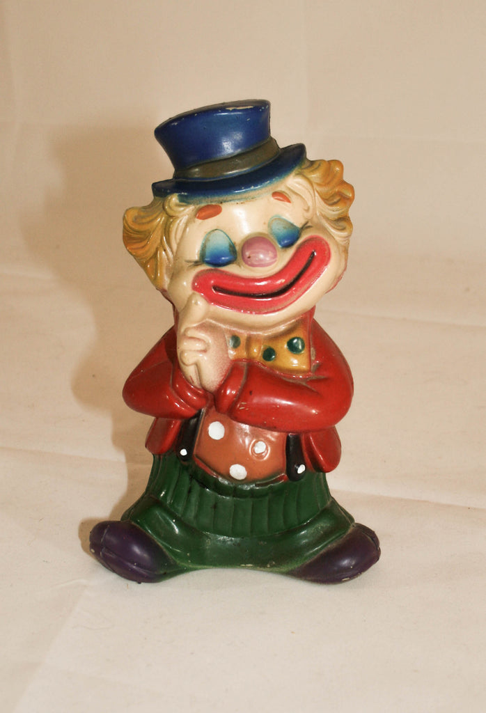 Vintage 1960s Happy Clown Piggy Bank - Vintage Swag Chics