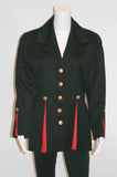 1980s Military Inspired Vintage Jacket by MON-LIZ Paris - Vintage Swag Chics