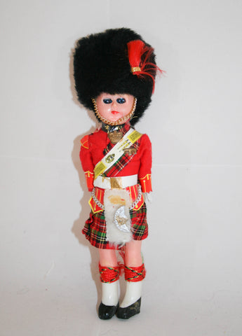 Vintage Scottish Doll, Scottish Highlander Doll