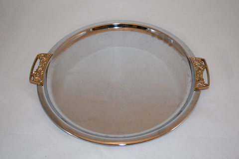 Mid-Century Kromex Chrome Tray