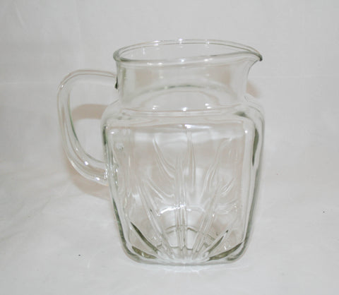 Federal Star Pitcher, Vintage 1940s-50s, 64 oz