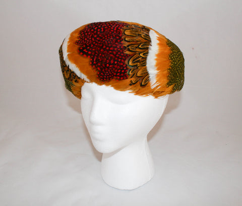 Vintage Neumann-Endler Feathered Felt Hat