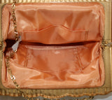 Vintage 1930s Whiting and Davis Gold Metal Mesh Purse #2932 - Vintage Swag Chics