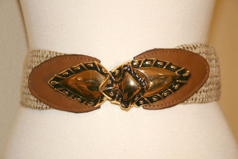 Vintage 80s Nan Lewis stretch belt