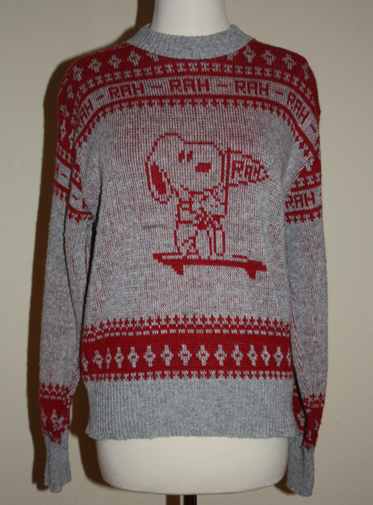 1970's Snoopy Sweater - Vintage Swag Chics