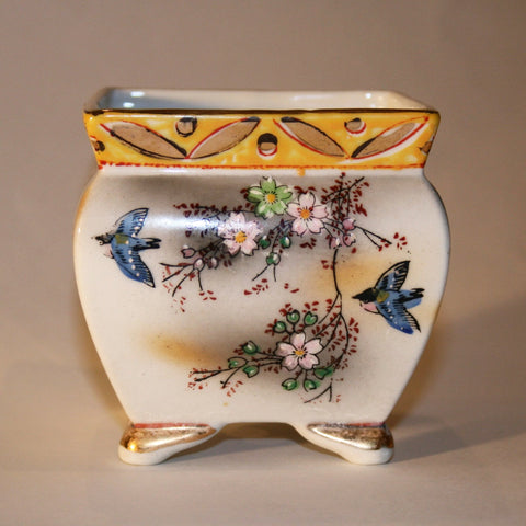 Sweet Footed Square Vase