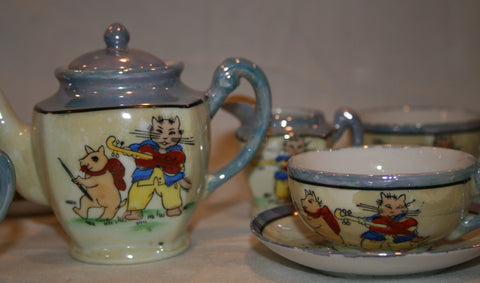 1940's Lusterware Child's Tea Set