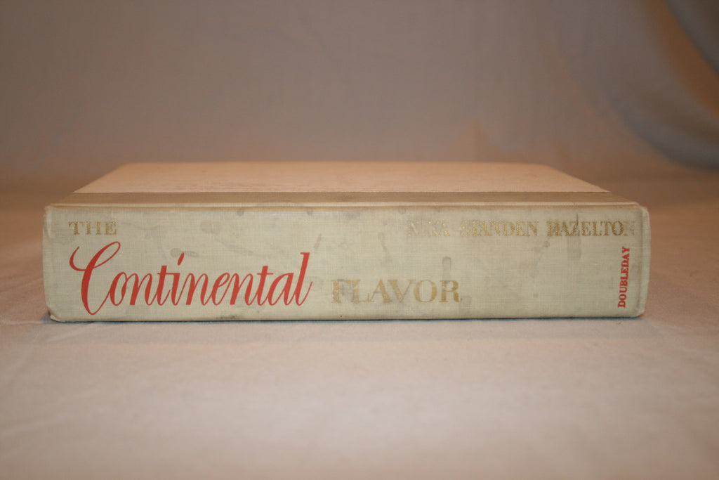 The Continental Flavor Cook Book - Vintage Swag Chics