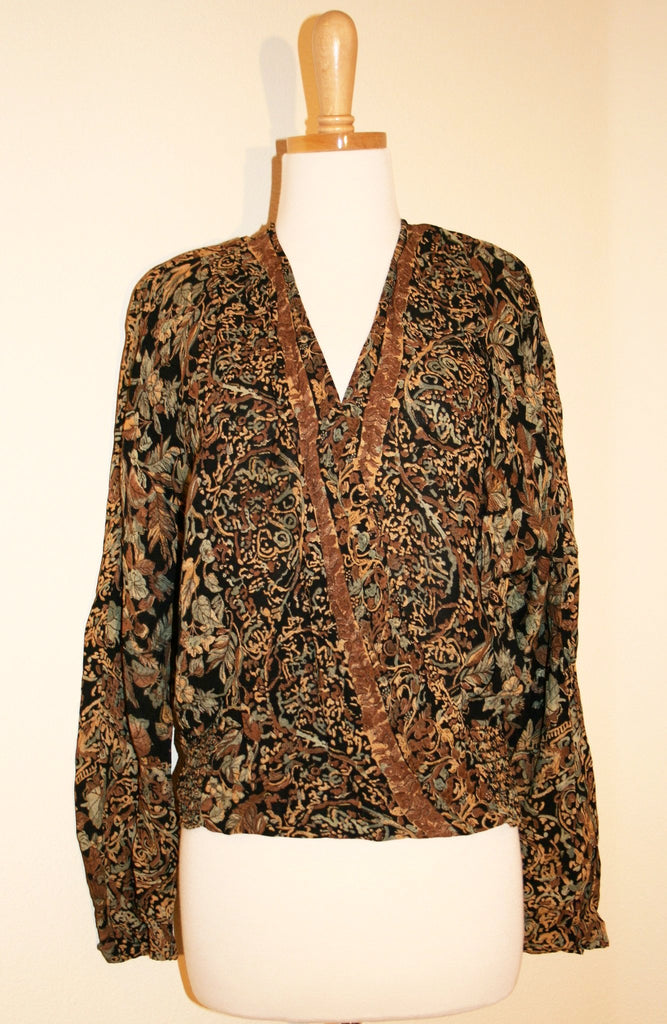 Totally 80's Blouse - Vintage Swag Chics