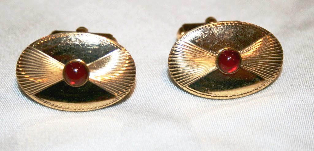 40's Men's Cuff Links - Vintage Swag Chics