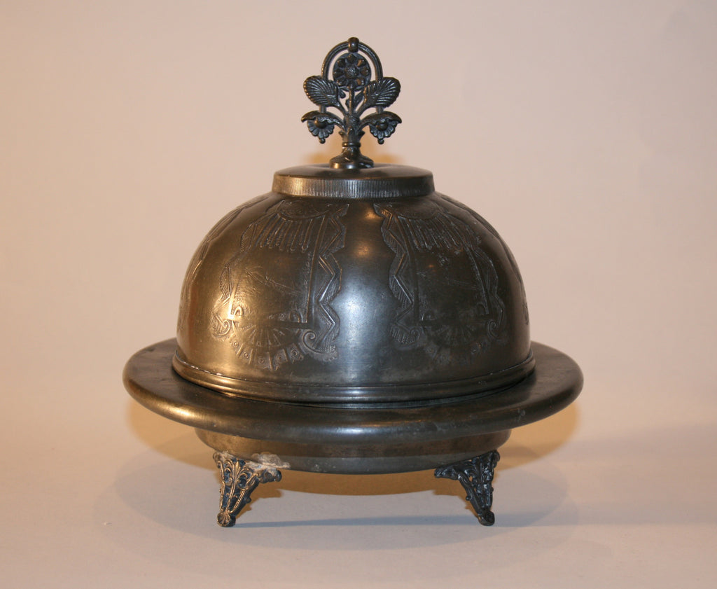 Domed Butter Dish - Vintage Swag Chics