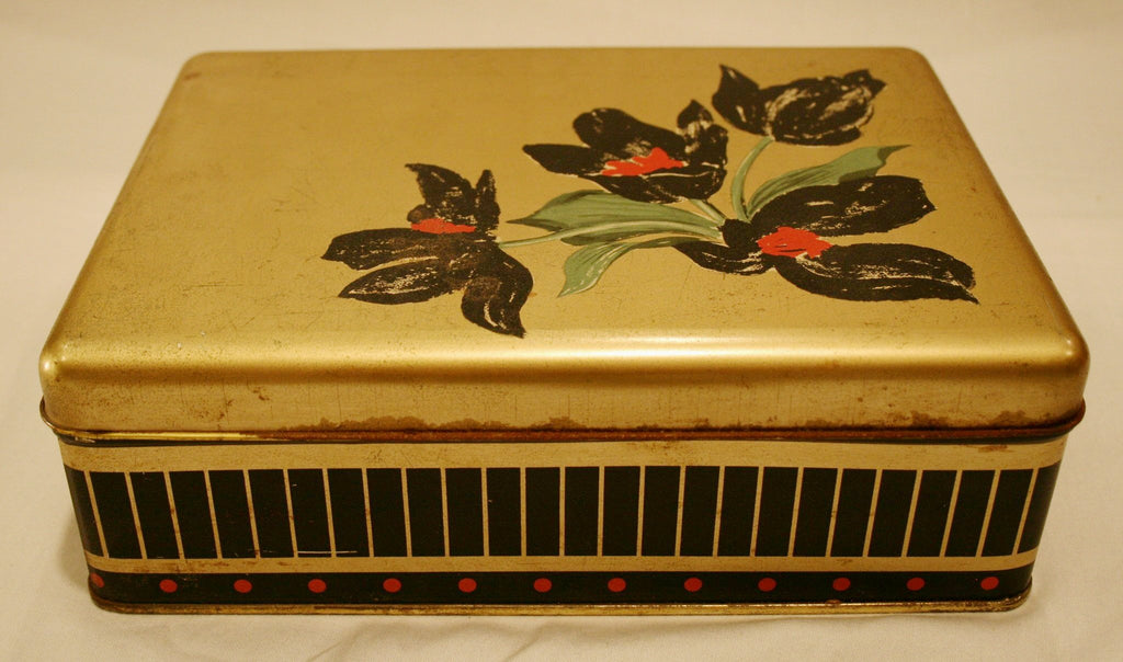 Vintage German Cookie Tin - Vintage Swag Chics