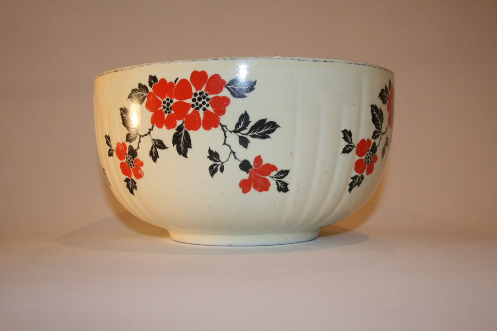 Red Poppy Bowl by Hall China - Vintage Swag Chics