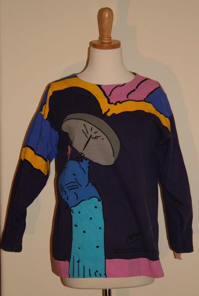 80's Peter Max Printed Top - Vintage Swag Chics