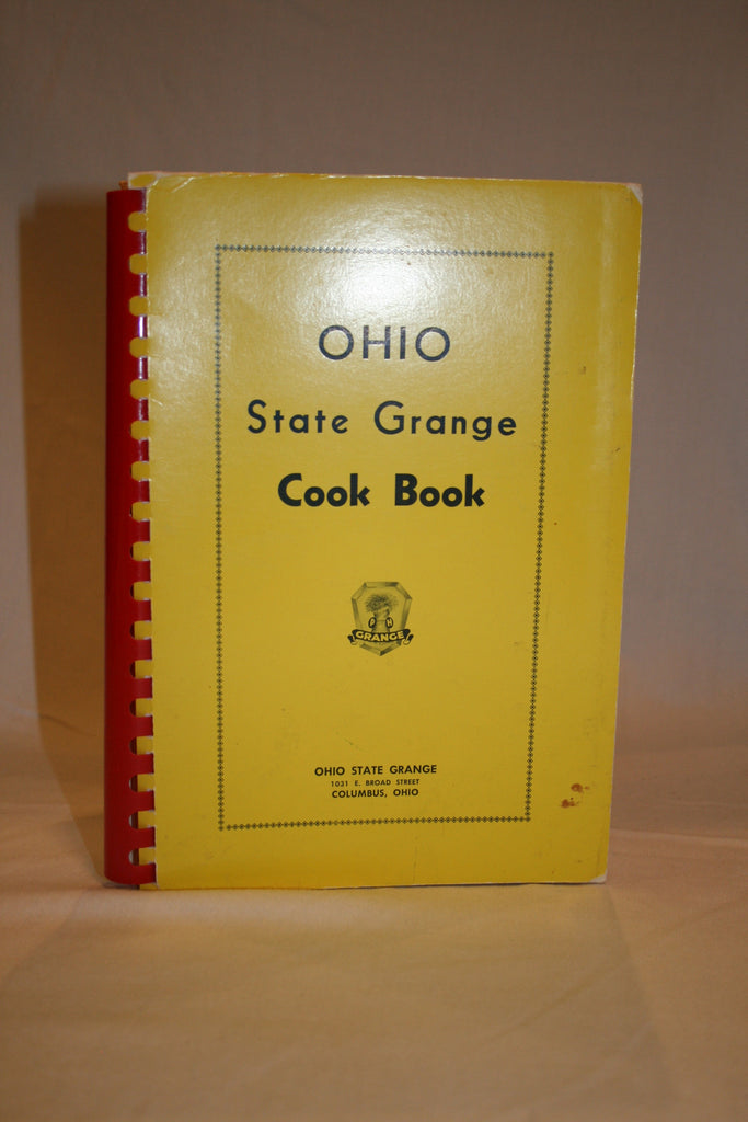 Ohio State Grange Cook Book - Vintage Swag Chics