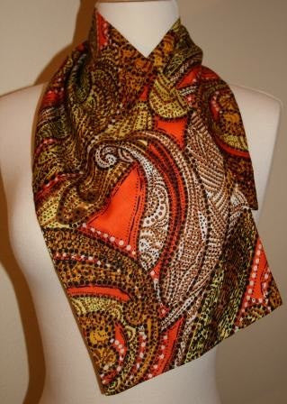 70's Paisley Scarf