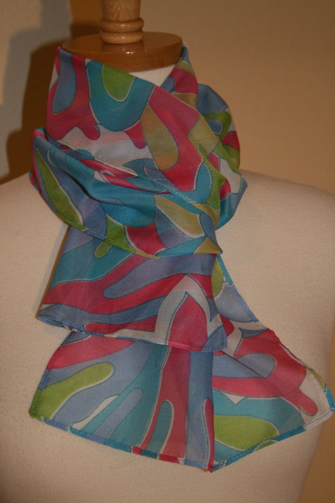 70's Psychedelic Scarf - Vintage Swag Chics