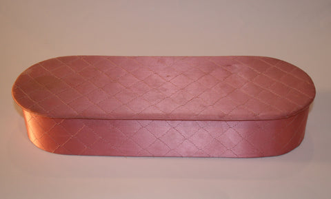 Pink Satin Glove Box