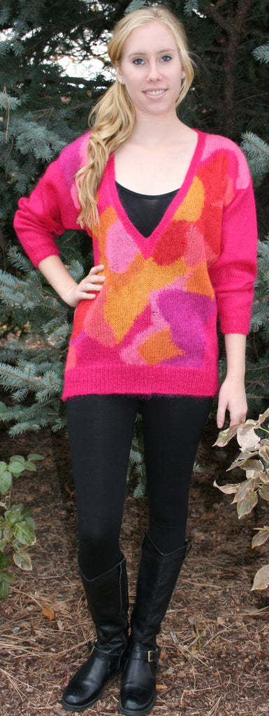 Vintage 80's renee tener For Jeanne Pierre Sweater - Vintage Swag Chics