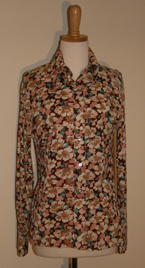 1970's Vintage Silky Blouse by rrrruss