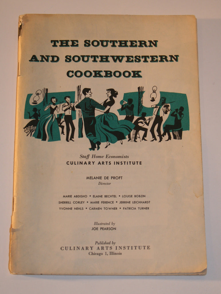 Vintage Southern and Southwestern Cookbook - Vintage Swag Chics